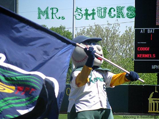 2010 Baseball Trip: Day 3-Cedar Rapids, IA