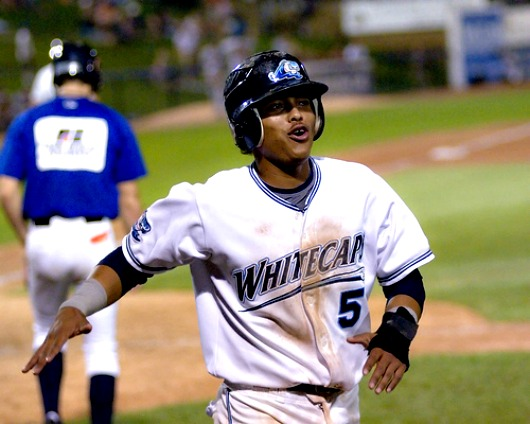 Nunez hit .315 playing for the Whitecaps in 2009