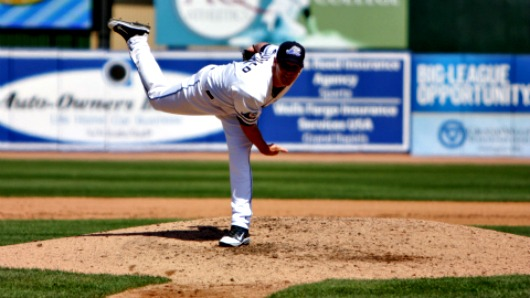 Warwick Saupold pitched for the Whitecaps last season, and will represent Australia in the WBC.