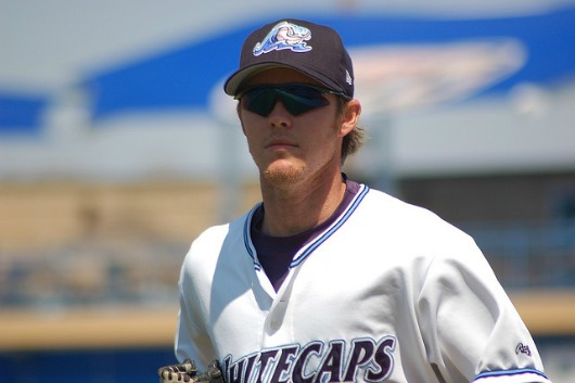 Brennan Boesch with the Whitecaps back in 2007