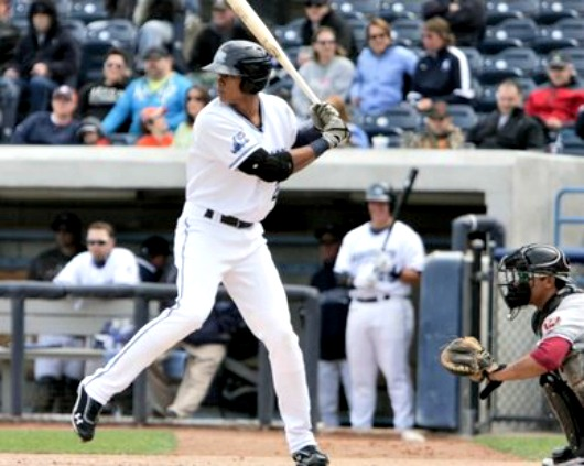 Steven Moya with the Whitecaps in 2012, is impressive so far this spring