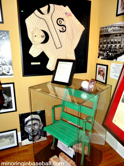 There are still some nice relics in the museum, including a chair from old Comiskey Park