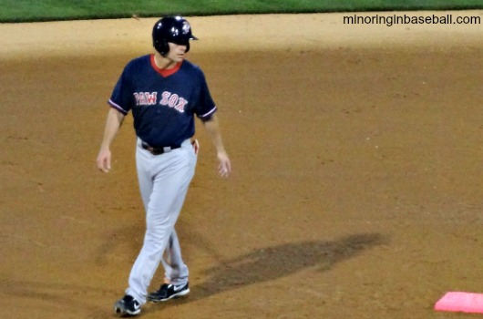 Former West Michigan Whitecaps second baseman Justin Henry, now with the PawSox