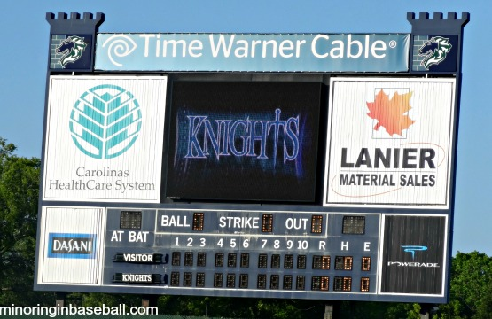 2013 Baseball Trip-Game 2: A beautiful Knight in Charlotte (3/6)
