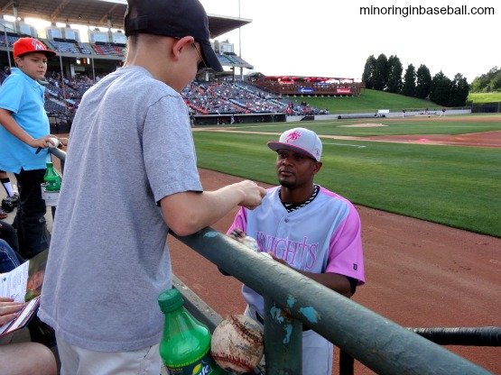 2013 Baseball Trip-Game 2: A beautiful Knight in Charlotte (5/6)