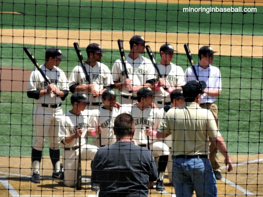 It was senior day for the Wake Forest baseball team