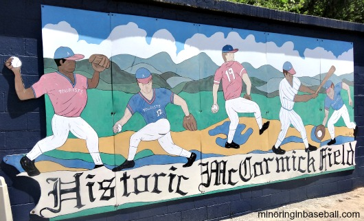 The mural you might have seen in 'Bull Durham'