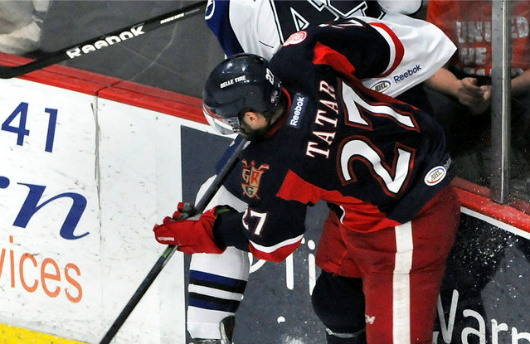 Tomas Tatar was named MVP of the Calder Cup Finals