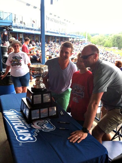 The Calder Cup and Grand Rapids Griffins visit Fifth Third Ballpark