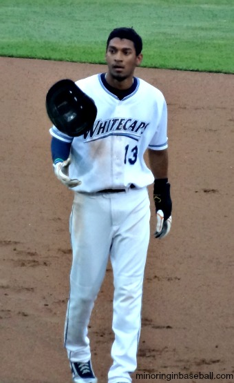 Outfielder Danry Vasquez