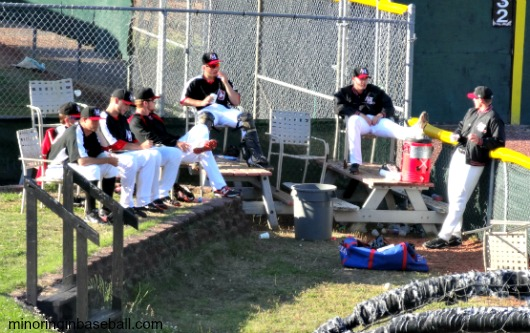 Chillin' in the bullpen...