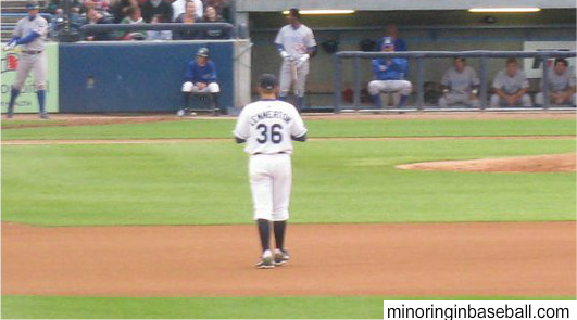 From deep in the M.I.B. archives. Jordan Lennerton with the Whitecaps back in 2009.