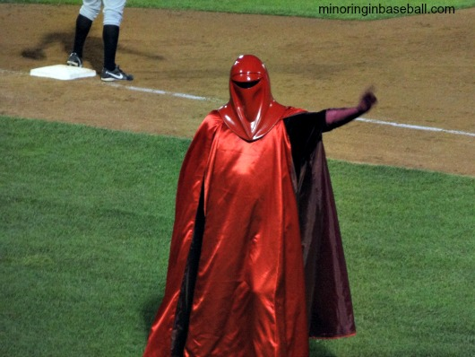 An Imperial Guard doing the YMCA!