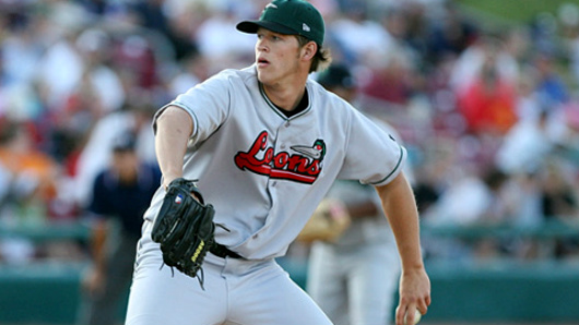 Clayton Kershaw with the Loons in 2007.