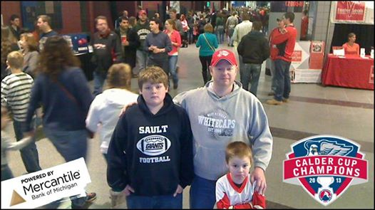 This one was taken at the kiosk on the Van Andel concourse.