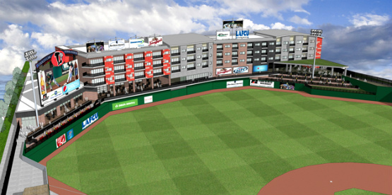 Lugnuts' Stadium Renovation (1/3)