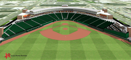 Lugnuts' Stadium Renovation (3/3)