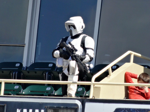 Imperial Sniper at the ready
