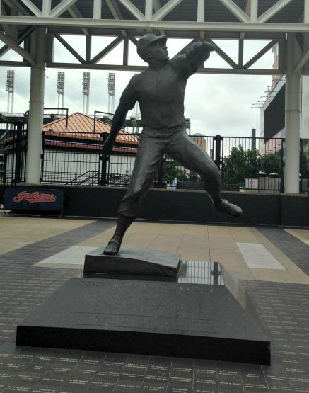 Statue of Bob Feller