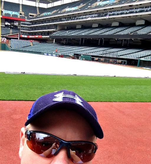 Selfie from the dugout