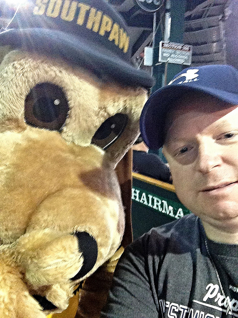 My selfie with Southpaw!